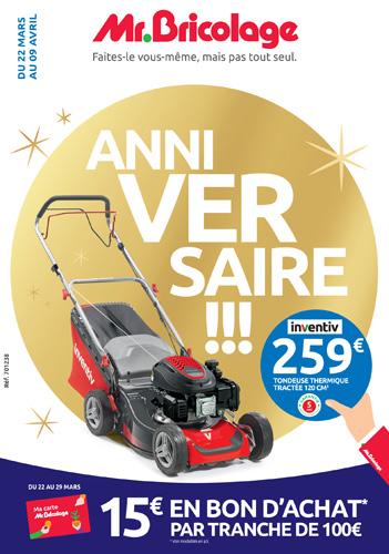 Thermique mr bricolage latest promotions elem tondeuse thermique ttactcc elem valide de with - Mr bricolage auch ...